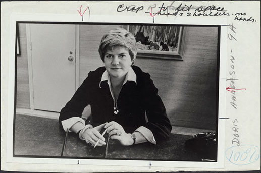 98b4c40ee6e3e 1957 – Doris Anderson was made Editor of Chatelaine magazine