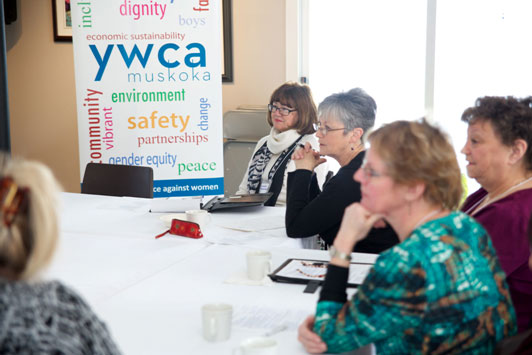Muskoka YWCA meeting