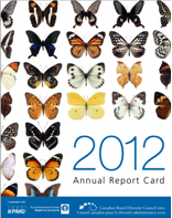 Cover for the Canadian Board Diversity Council 2012 Report Card (Canadian Board Diversity Council)