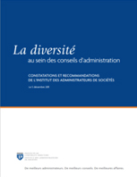 Cover for the Diversity in the Boardroom: Findings and Solutions from the ICD (Institute of Corporate Directors)