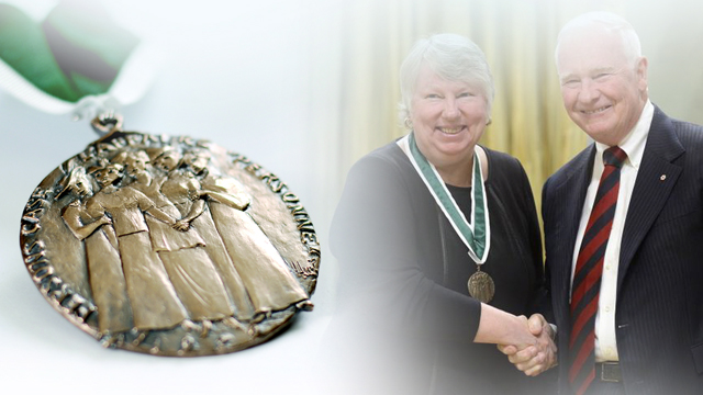 Elizabeth Atcheson, Recipient, 2014, Governor General Awards in Commemoration of the Persons Case