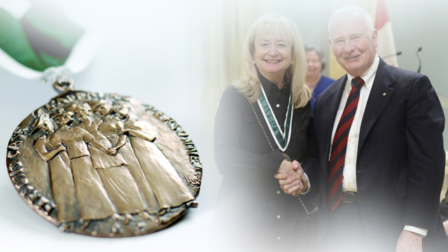Louise Champoux-Paillé, Recipient, 2014, Governor General Awards in Commemoration of the Persons Case