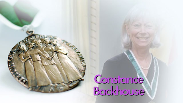 Constance Backhouse, Lauréate, 2013