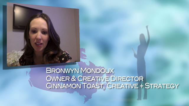 Stories - Bronwyn Mondoux - Women's History Month 2014