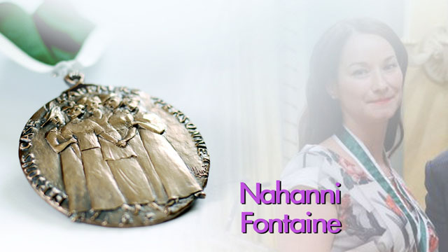 Nahanni Fontaine, Winnipeg, Manitoba, Recipient,  2013, Governor General Awards in Commemoration of the Persons Case