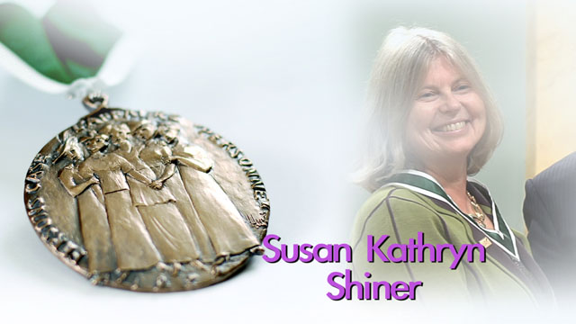 Susan Kathryn Shiner, St. John's, Newfoundland and Labrador, Recipient, 2013, Governor General Awards in Commemoration of the Persons Case